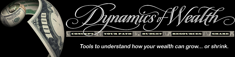 Dynamics of Wealth